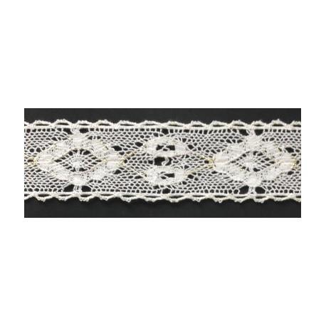 ZY-2279B (30MM) Cotton Torchon Lace