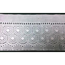 ZY-E2687 Cotton embroidery lace