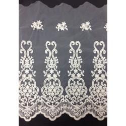 ZY-E2808 (25CM) Cotton Tulle Lace