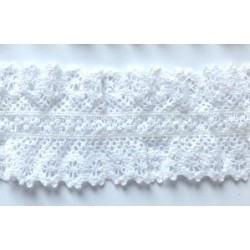 ZY-H0742 (25MM) Elastic Cotton Lace
