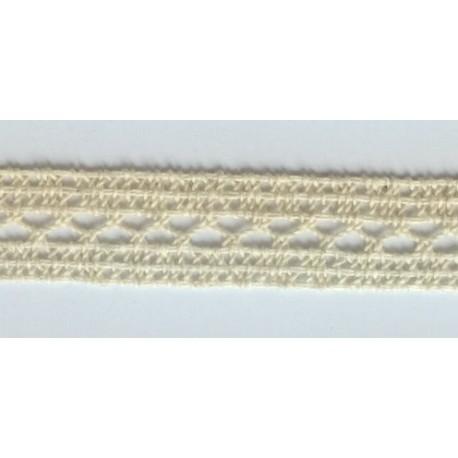 ZY-H0761C (20MM) Cotton Torchon Mesh Lace