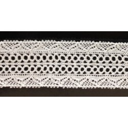 ZY-H0799A (28MM) Cotton Torchon Lace