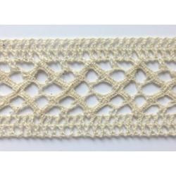 ZY-H0876A (38MM) Cotton Torchon Mesh Lace