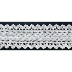 ZY-H1232 (22MM) Elastic Cotton Lace