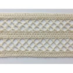 ZY-H1564A (48MM) Cotton Torchon Mesh Lace