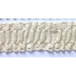 ZY-H1854 (30MM) Elastic Cotton Lace