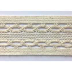 ZY-H2090  (38MM) Cotton Torchon Mesh Lace