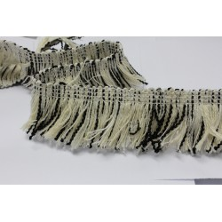 ZY-9452B (40mm) Multi Fringe (Ivory)