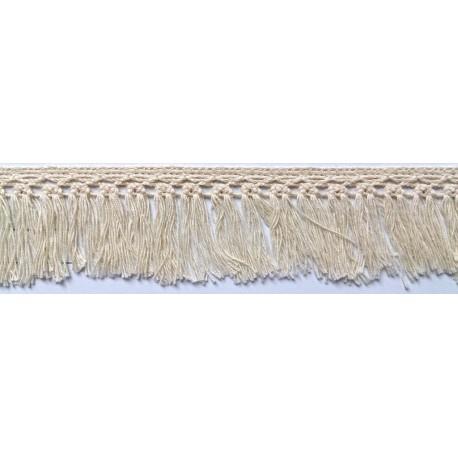 ZY-H2596C (35MM) Cotton Torchon Fringe Lace