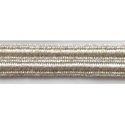 WH-E1022-8 (12MM) SILVER Metallic Braid Trims