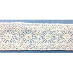 FL-H2057FL (32MM) Cotton Tulle Lace