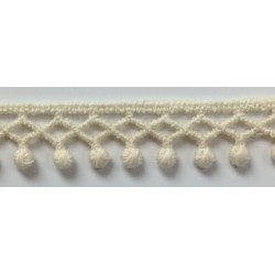 FL-K9406 (15MM)  Cotton Chemical Lace