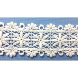 GD-WS0227LX (45MM) Cotton Chemical Lace